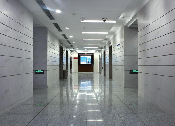 山东硅谷众创平台走廊