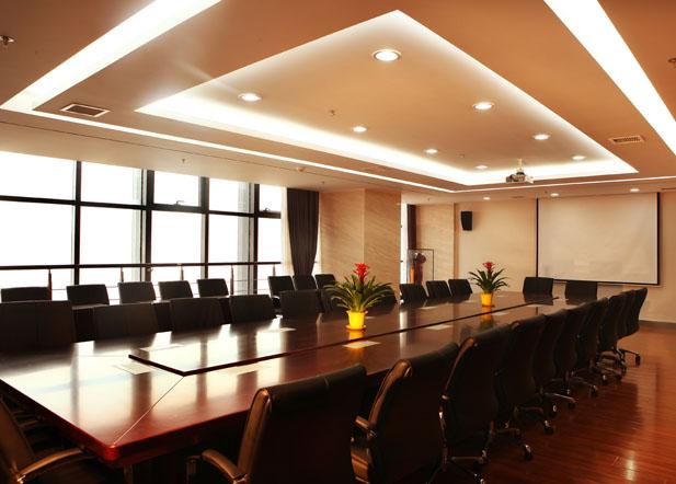 山东硅谷众创平台会议室